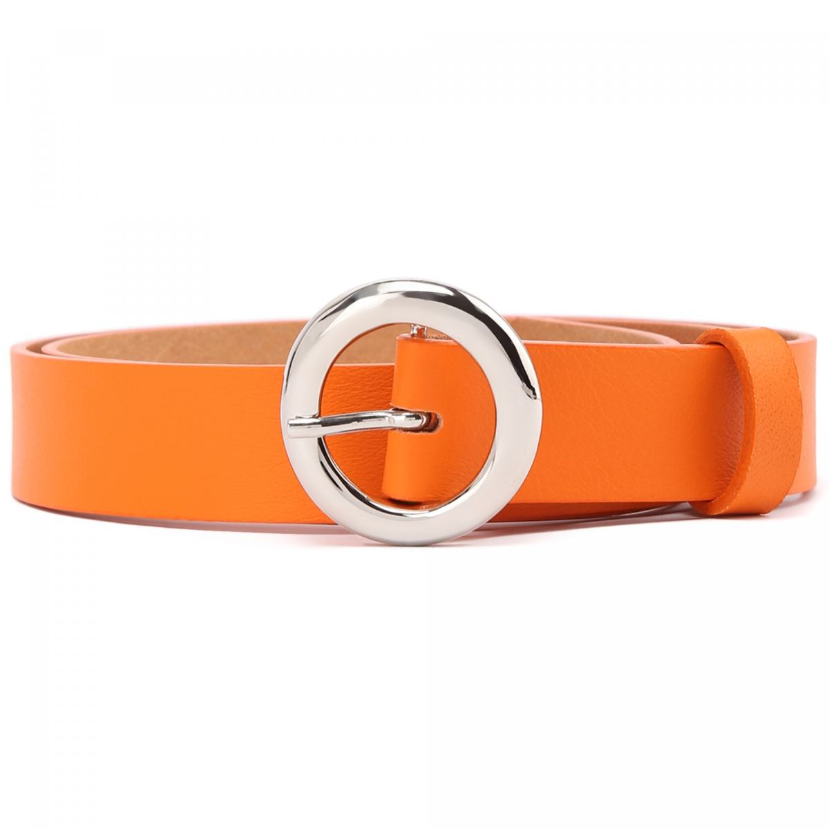 Ремень Baldinini оранжевого цвета